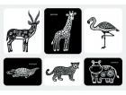 Набор карточек «Сафари»