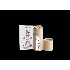 """Карманный набор """"Раскраска и Эко-карандаши, возьми с собой!"""""""